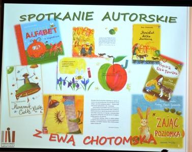 Ciotka Klotka w Brzesku czyli spotkanie z Ewą Chotomską