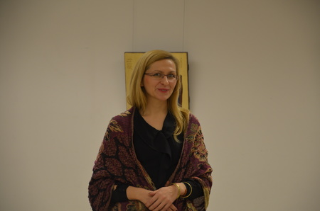 Wernisaż wystawy ikon Karoliny Wichy