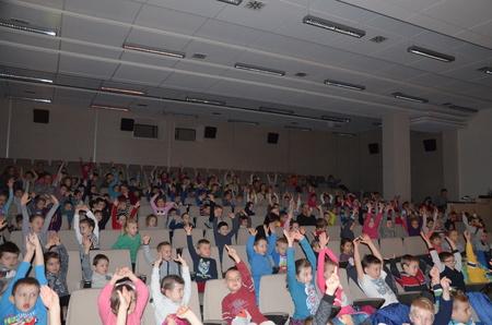Teatr  Moralitet wBibliotece dla najmłodszych czytelników