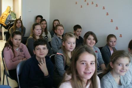 Spotkanie z Anną Gaudnik w Szczepanowie