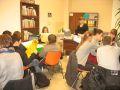 Uczniowie PG nr 1 w Dziale Bibliograficzno-Informacyjnym