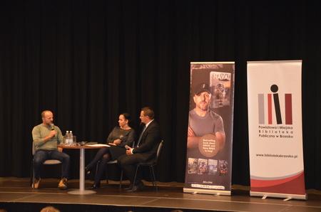 Spotkanie z NAVALEM w brzeskiej Bibliotece