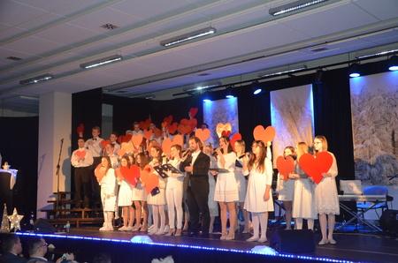 Koncert jubileuszowy Grupy Teatralnej GT wPiMBP wBrzesku
