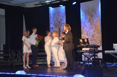 Koncert jubileuszowy Grupy Teatralnej GT w PiMBP w Brzesku