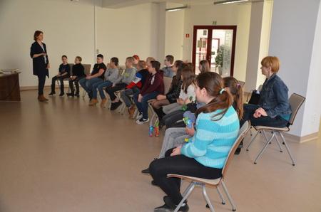 Uczniowie ze szkoły wGnojniku wkrainie legend