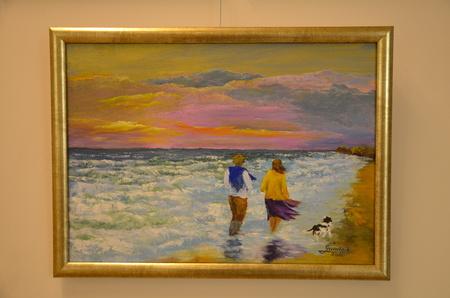 Świat Anny - obrazem i słowem malowany