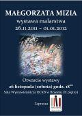 Otwarcie wystawy Pani Małgorzaty Mizi