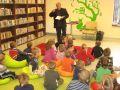 Wiesław Drabik gościem Oddziału dla Dzieci