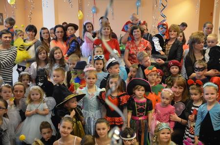 Bajkowy Bal Przebierańców wOddziale dla Dzieci