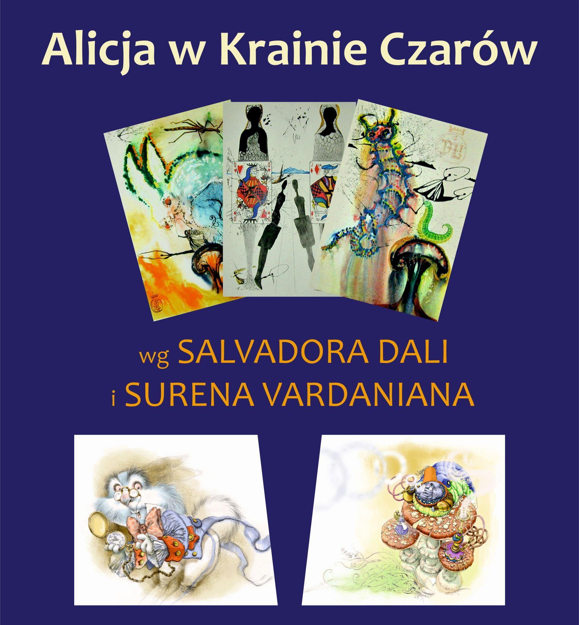 """Wernisaż wystawy """"Alicja wKrainie Czarów"""""""